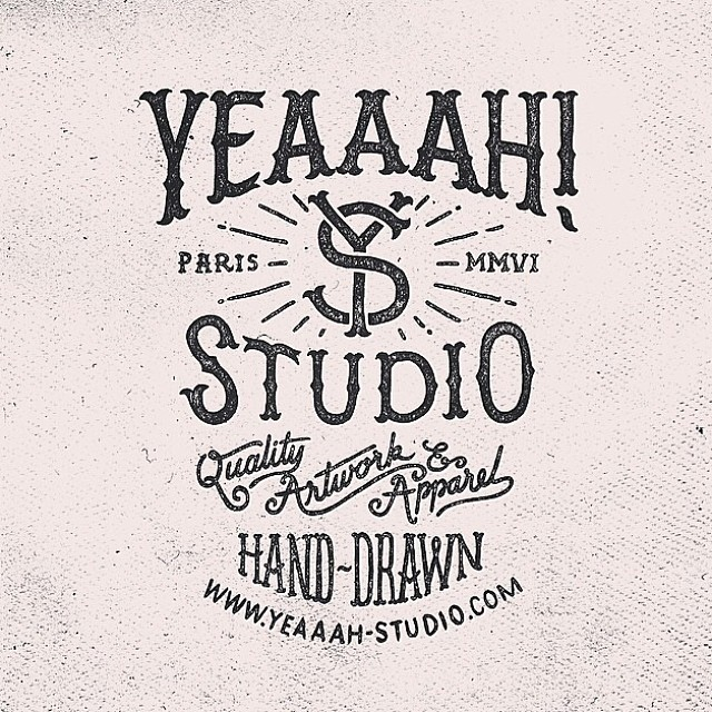 Yeaaah Studio Hand-drawn type