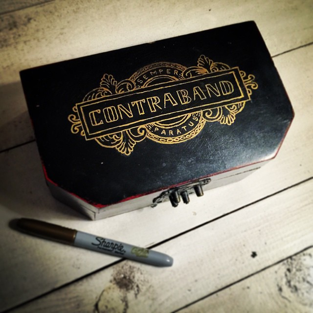 Thrift Shop - Contraband Hand Lettering Box