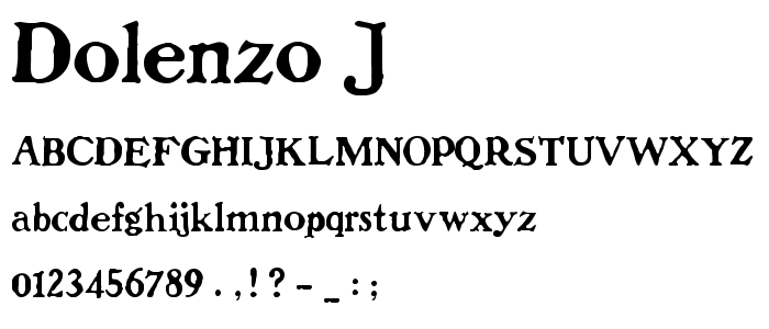 Eroded Font - Download free