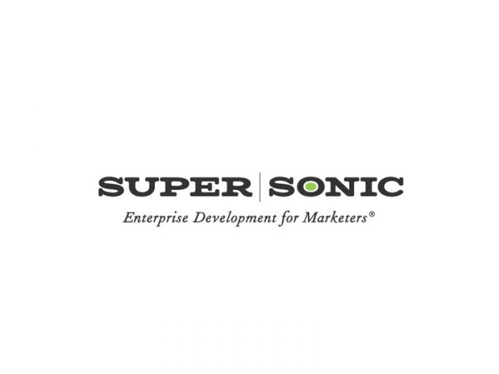 Supersonic Branding Idea - Logo design with fonts