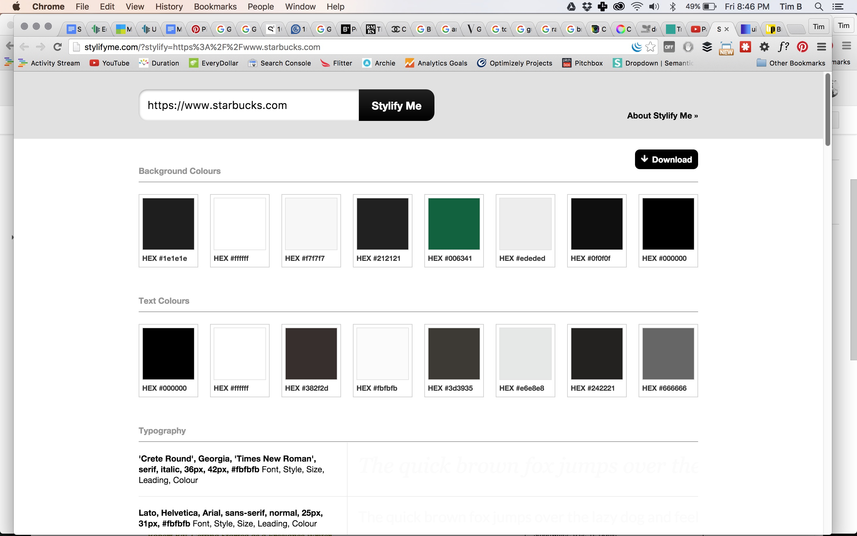 Color Palette Tools - Starbucks.com, design web design inspiration