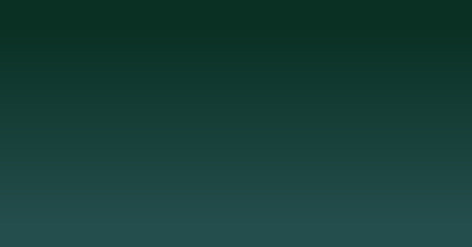 Ninja Dark Green Gradient UI Background