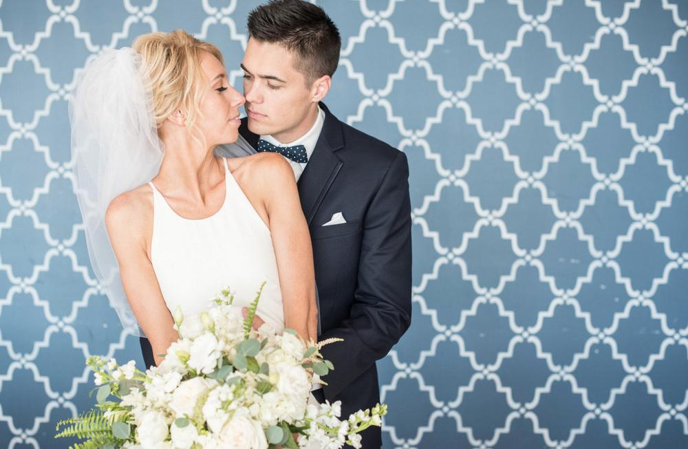 Wedding Inspiration - Blue and White