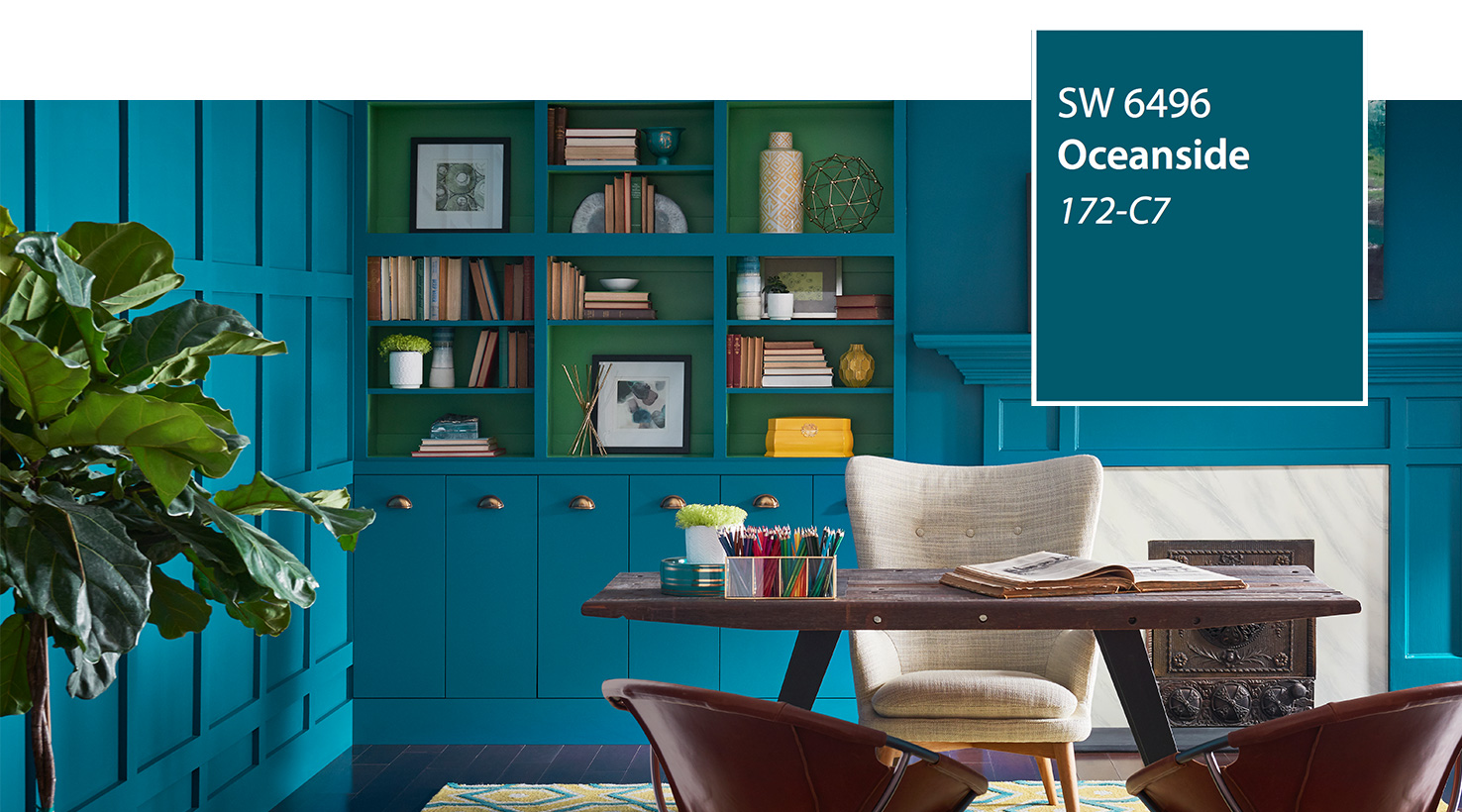 Sherwin Williams Color of the year 2018 - Oceanside