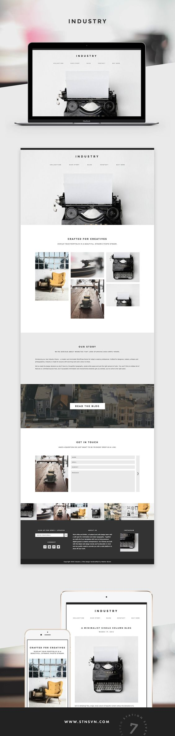 Paloma WordPress Theme