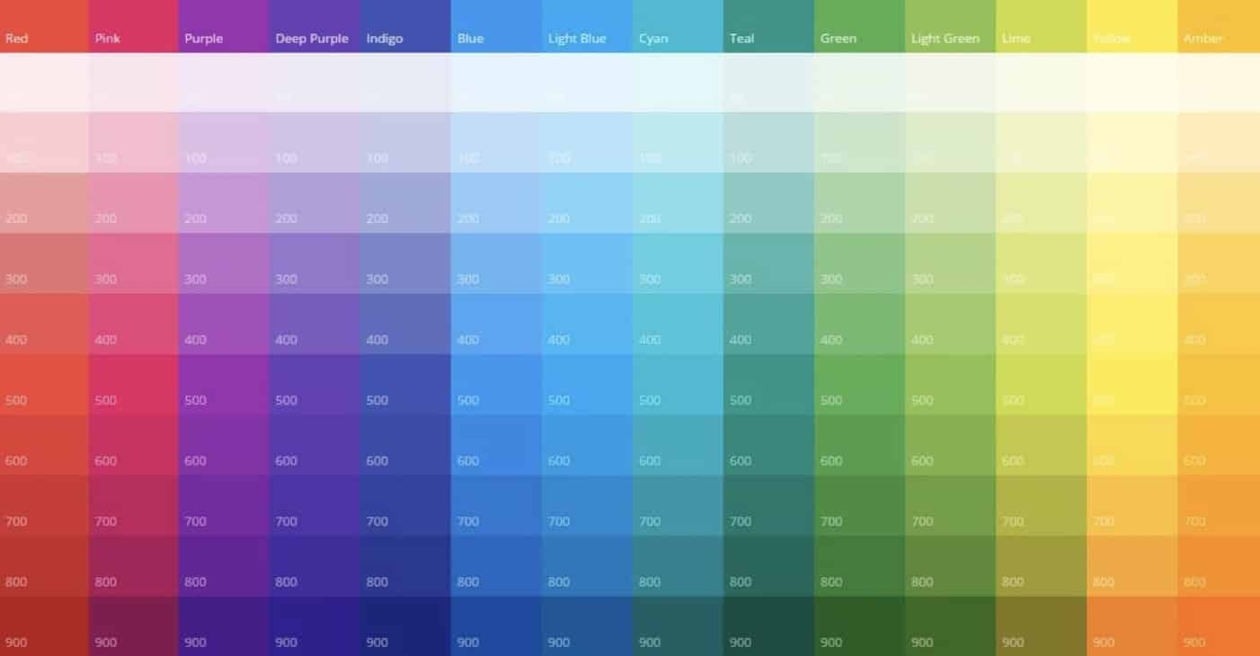 Bright Colors - Small Business Web Design Trends
