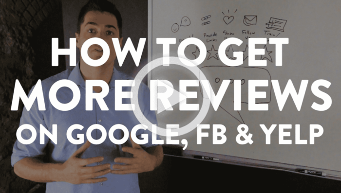 How to Get More Reviews online