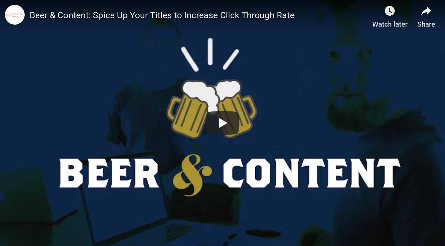 Beer and Content Strategy - LinkedIn Lead Generation