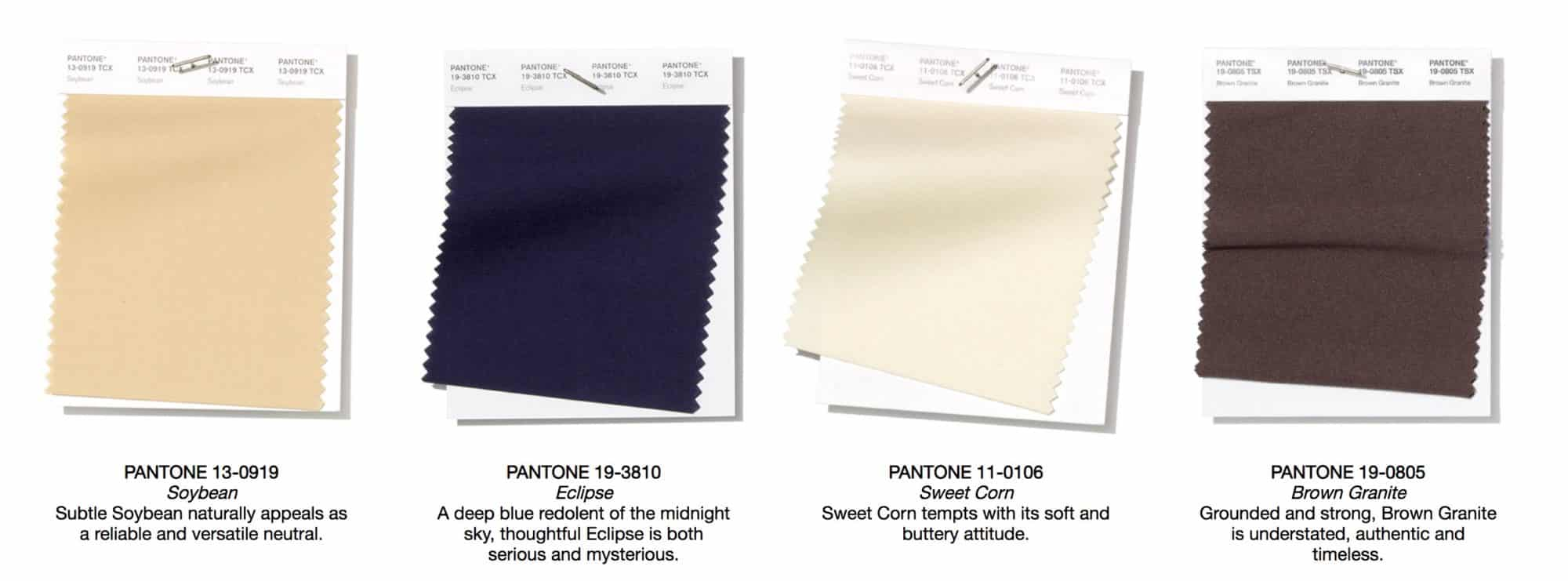 Neutral Colors 2019 - Pantone