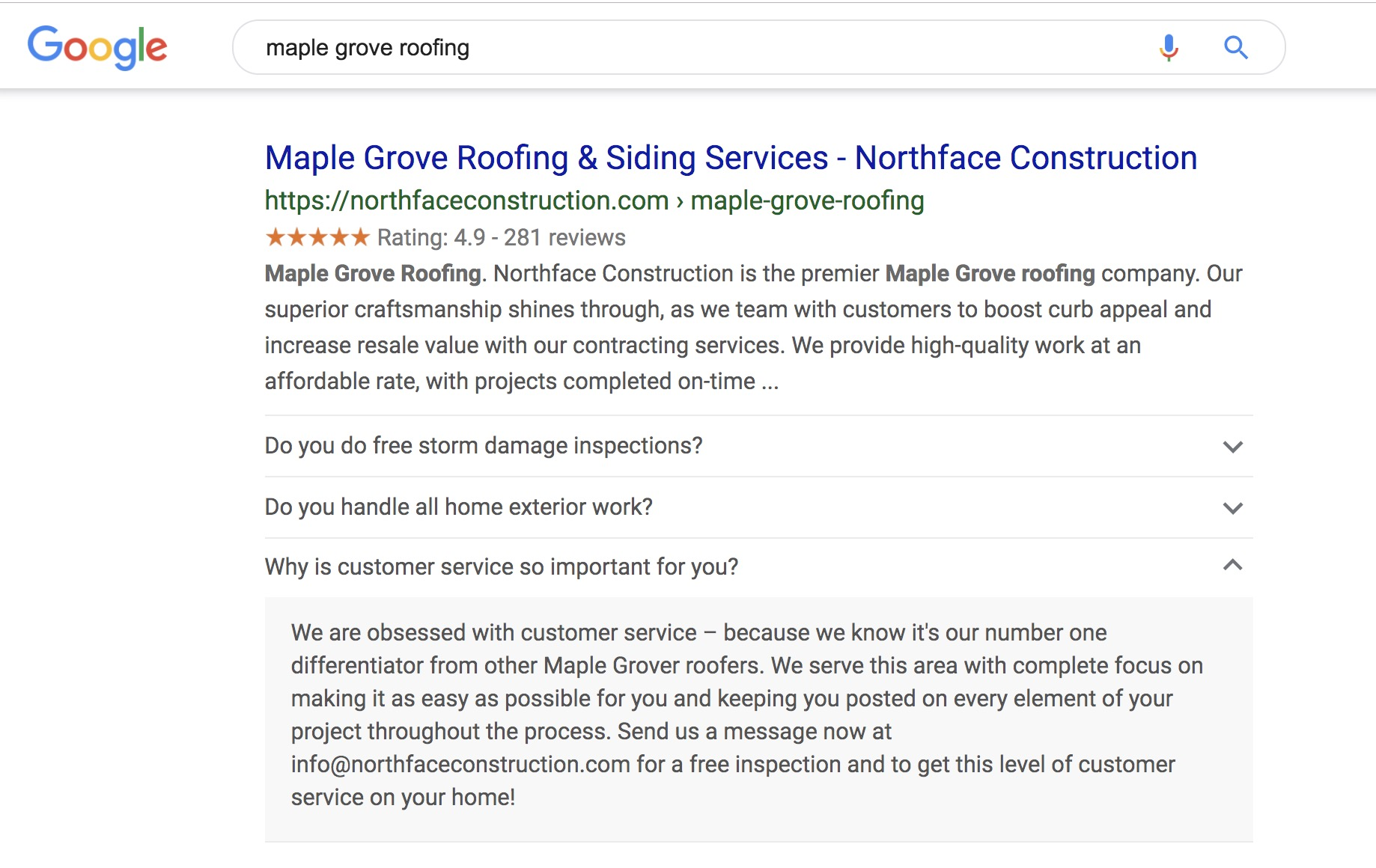 Insane Roofing SEO Tip