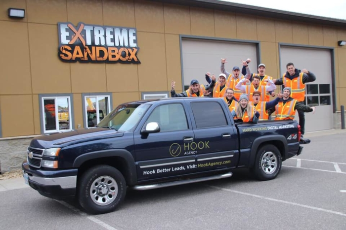 Extreme Sandbox Review for Corporate Teams / Team Building