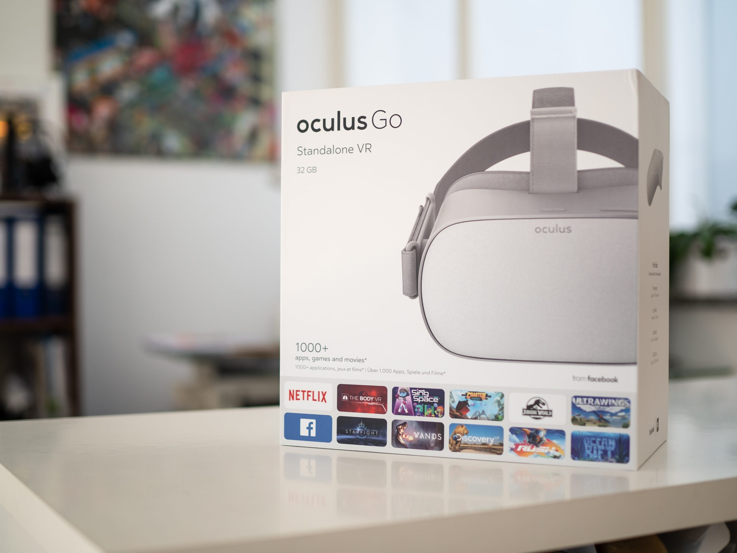 VR headset for virtual reality